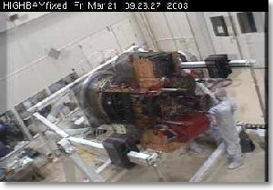 March 21. 2003 View of Messenger Assembly