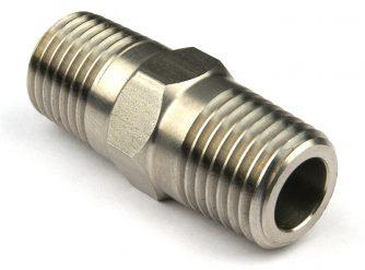 """Stainless Steel 1/4"""" Nipple"""