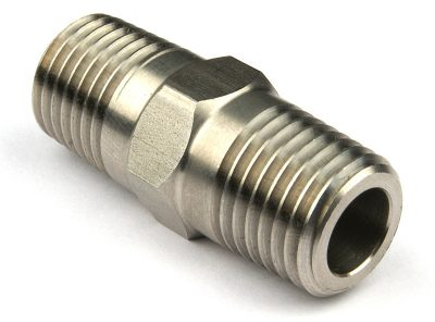 "Stainless Steel 1/4"" Nipple"
