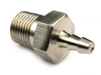 "Stainless Steel 1/8"" X 1/8"" Barb"