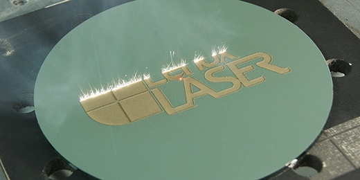 Picture of custom laser marking, one of the services we provide